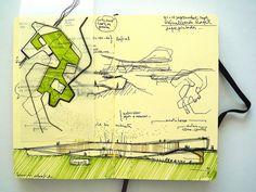 Francisco Lleiva / Grupo Aranea drawings.