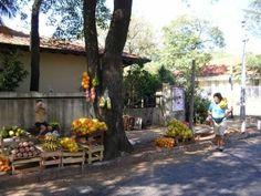 Vendedores de fruta en Asunción, Paraguay