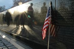 (Matthew Carroll) Best Things To See In The USA (according to TripAdvisor):  19. Vietnam Veterans Memorial, Washington DC (The Vietnam Memorial runs alongside the National Mall with the Lincoln Memorial to the south. It was completed in 1982 and is made up of a wall which has the names of the honoured servicemen inscribed on it. The memorial is also home to a bronze statue of three servicemen and another memorial dedicated to the work of the women who served the United States.)