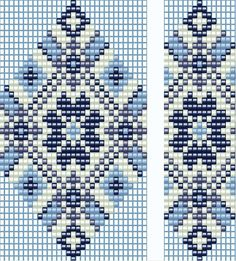Wintery colors - from http://anabel-beadpatterns.blogspot.com/2011/09/shemi-5.html