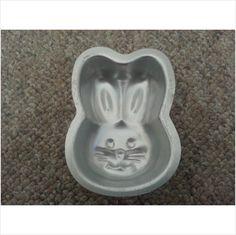 "4"" Bunny Rabbit Wilton Singles Cake Pan on eBid United States $3.50"