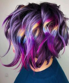 Hair Color 2018 Periwinkle Blue ❤️ A blue hair color will work great for women who love to experiment and who do not hesitate to show off their wild side. If this statement is about you, then you will definitely love our photo gallery featuring top l. Short Hair For Boys, Super Short Hair, Short Hairstyles For Thick Hair, Curly Hair Styles, Cool Hairstyles, Fashion Hairstyles, Short Haircut, Everyday Hairstyles, Formal Hairstyles