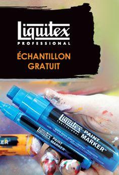 Échantillon Liquitex Paint Marker, Acryliques ou Peinture aérosol.   http://rienquedugratuit.ca/echantillon-gratuit/liquitex-artiste/