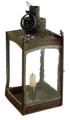 Concord Museum: One of the original lanterns Paul Revere used on the night of 18 April 1775 in Christ Church (The Old North Church,Boston)