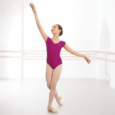 ABD Ballet Grade 1 - 4 Cap Sleeved Leotard dazzle-dancewear.co.uk