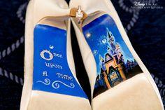 Trendy wedding shoes disney something blue ideas Trendy Wedding, Perfect Wedding, Our Wedding, Dream Wedding, Wedding Tips, Disney Dream, Disney Style, Disney Fine Art, Estilo Disney