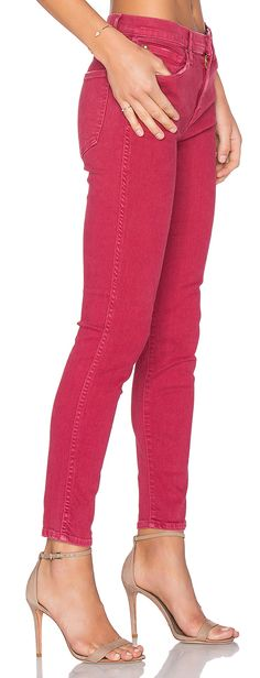 4afd9563 The Almost Skinny Jean in Cherry Pie Love Jeans, Ankle Strap Shoes, Killer  Heels