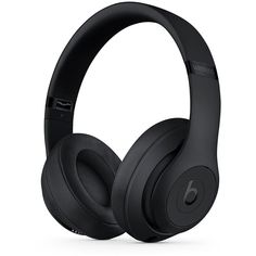 Beats by Dr. Dre Studio 3 Wireless Headphones (450 CAD) ❤ liked on Polyvore featuring men's fashion, men's accessories, men's tech accessories, electronics and matte black