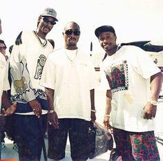 Tupac, MC Hammer, and Snoop Dog on Ambergris Caye, long ago