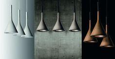 Aplomb concrete lamp, Foscarini