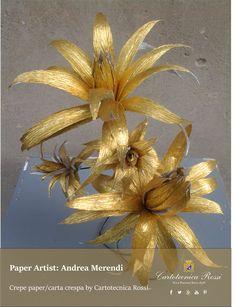 Paper artist: Andrea Merendi for Cartotecnica Rossi / Italian Crepe & Tissue Paper