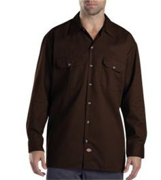 Long Sleeve Work Shirt     PRICE  $34.99 - $37.99   Item# 574     - Stain release  - Moisture control  - Extra long tail  - Relaxed fit  - Extra long tail
