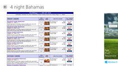 Cruise itinerary details  www.worldwinger.com