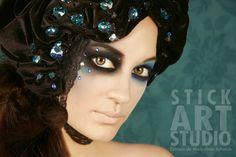 Realizado por Alejandra Ortiz, maestra de Stick Art Studio, escuela de maquillaje artístico y profesional en Barcelona