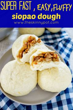 SUPER FAST,EASY AND FLUFFY SIOPAO DOUGH