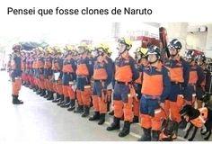 Jutsu clone de bombeiro! Naruto Uzumaki Shippuden, Naruto Kakashi, Shikamaru, Anime Naruto, Naruto Meme, Sasuke Sakura, Anime Meme, Otaku Meme, Wallpapers Naruto