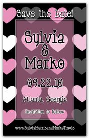 Show your fun side as well as your romantic side with these Fun Save the Date Magnets . White, Pink and Grey Hearts highlight this design. Funny Save The Dates, Wedding Save The Dates, Heart Font, Let The Fun Begin, Whimsical Fashion, Save The Date Magnets, Pink Grey, Highlight, Hearts