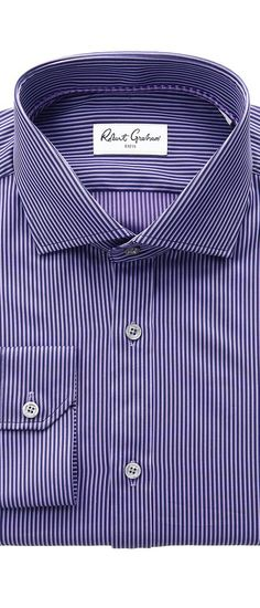 Robert Graham Olaf Dress Shirt (Purple) Men's Long Sleeve Button Up - Robert Graham, Olaf Dress Shirt, OLAF RGD1320-510, Apparel Top Long Sleeve Button Up, Long Sleeve Button Up, Top, Apparel, Clothes Clothing, Gift, - Street Fashion And Style Ideas