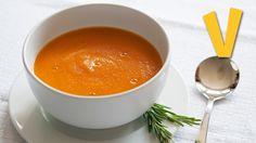 Pumpkin Soup - Recipe By The Vegan Corner -- Watch The Vegan Corner create this delicious recipe at http://myrecipepicks.com/17950/TheVeganCorner/pumpkin-soup-recipe-by-the-vegan-corner/