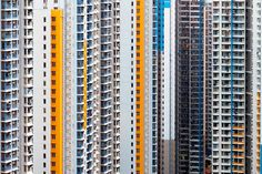 Hong Kong Urban Barcode:  Munich-based photographer Manuel Irritier explores the rich patterns that emerge from Hong Kong's extreme urban density.  www.manuelirritier.com