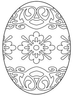 Easter Coloring Page: Stained Glass Egg / Michelle Collins Make your world more colorful with free printable coloring pages from italks. Our free coloring pages for adults and kids. Easter Egg Coloring Pages, Free Coloring Pages, Coloring For Kids, Coloring Books, Printable Coloring, Adult Coloring, Easter Art, Easter Crafts, Easter Egg Pattern