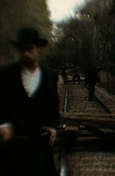 "verticalfilm: ""The Assassination of Jesse James by the Coward Robert Ford "" Assassination Of Jesse James, Sarah Gadon, Al Capone, Sound & Vision, Writing Inspiration, Aesthetic Anime, Screen Shot, Westerns, Films"