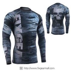 04d9737ce881 FIXGEAR CFL-95 Compression Base Layer Long Sleeve Shirts. Workout ...