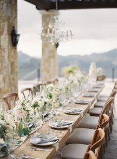Romantic Malibu Wedding on top of a Mountain
