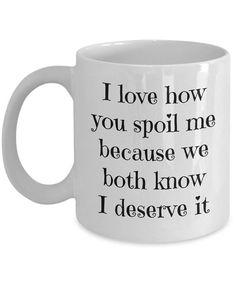 Husband Coffee Mug  Boyfriend Mug  Wife Mug  Valentines Day