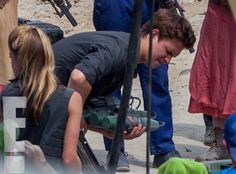 Ansel Elgort from Behind the Scenes of The Divergent Series: Allegiant ? Part 1 | E! Online