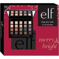e.l.f. Love Your Look 20 Color Eye Palette - Walmart.com