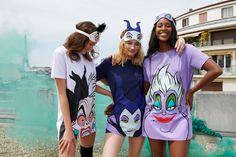 Tshirt Halloween Costumes, Halloween Pajamas, Halloween Outfits, Disney Outfits, Cute Outfits, Evil Disney, Painted Clothes, Luxury Lingerie, Disney Villains