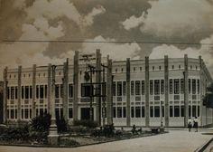 Antigo edifício da Secretaria de Assistência e Saúde, hoje demolido. Manaus. Acervo: Moacir Andrade.