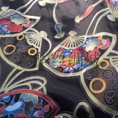 Sick silk fabric we have acquired to make kimono robes