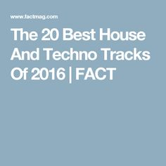 From Asusu to Willow, FACT's Scott Wilson picks out the most innovative, grin-inducing and downright banging house and techno tracks of