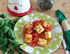 TOFU ALLA PIZZAIOLA, un secondo piatto semplice e gustososissimo #gialloblogs http://blog.giallozafferano.it/lacucin…/tofu-alla-pizzaiola/