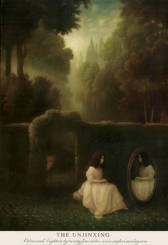 Stephen Mackey is a contemporary British Artist whose dreamlike images of surreal fairy tale encounters and twisted romanticism have earned him a burgeoning reputation. Print size: x printed on high quality paper. Ideal for framing. Arte Peculiar, Pop Surrealism, Surreal Art, Dark Art, Les Oeuvres, Art Inspo, Fantasy Art, Cool Art, Fairy Tales