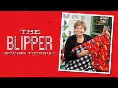 A Blipper is a quilt with a pocket for your feet. Watch Jenny make this easy project with NFL Fleece Yardage by Fabric Traditions. Jenny Doan Tutorials, Msqc Tutorials, Quilting Tutorials, Quilting Tips, Quilting Projects, Sewing Projects, Modern Quilting, Missouri Quilt, Fleece Projects