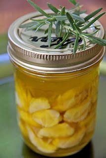 Make your own garlic oil