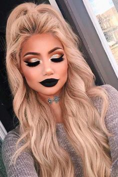 Premium Beauty Makeup Blender Lipstick Design Cosmetic Sponge with Handle for Liquid Cream Foundation Concealer Under-eye Highlighting & Contouring Rose Red - Cute Makeup Guide Cute Makeup, Prom Makeup, Pretty Makeup, Dark Makeup Looks, Makeup Set, Amazing Makeup, Gorgeous Makeup, Glamour Makeup Looks, Masquerade Makeup