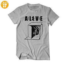 Schrödingers Katze Sheldon Fan T-Shirt Herren grau Medium (*Partner-Link)