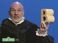 Sesame Street: Patrick Stewart Soliloquy on B