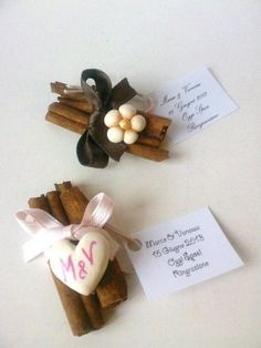 Segnaposto matrimonio eco-friendly cannella. Wedding placeholder with cinnamon. #wedding