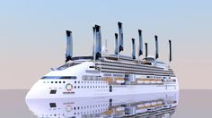 Finnish shipyards land orders for 'green' cruise ships -  Peace Boat Ecoship Arctech