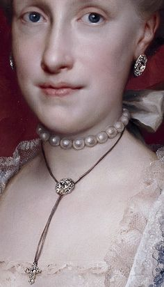 Maria Louisa of Bourbon By Anton Raphael Mengs