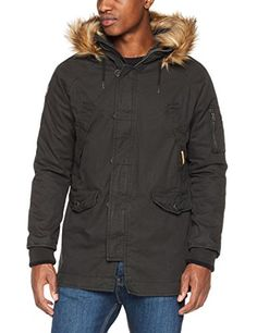 Superdry Rookie Heavy Weather Parka, Eskimo para Hombre