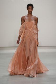 Leanne Marshall September 2016 at New York Fashion Week. #NYFW