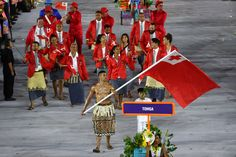 Tonga Flag Bearer Memes & Tweets From The Olympics Opening Ceremony Are Brilliant