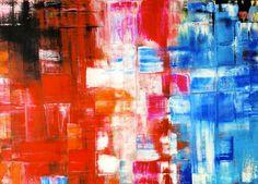 Pittura Astratta con i colori ad olio su tela di NatalieCugArt