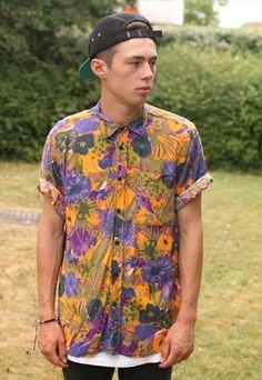 Vintage Crazy Pattern Shirt £14.00